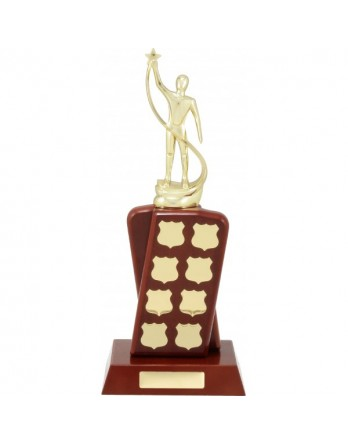 Perpetual Trophy Crossover Rosewood 370mm