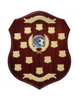 Perpetual Timber Shield Mahogany 340mm