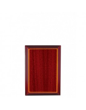 Timber Plaque (Budget) Wider Wood Grain 155mm