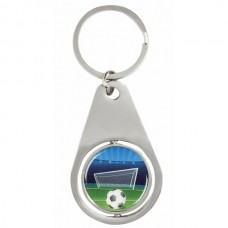 Key Ring Silver with 25mm Insert