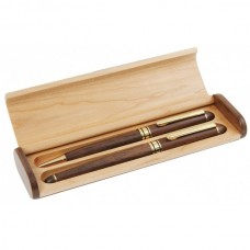 Timber Pen Set with Two Pens