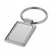 Key Ring Metal Rectangle 43mm