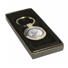 Key Ring Round Silver with 25mm Insert