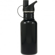 Stainless Steel Water Bottle Black 500ml