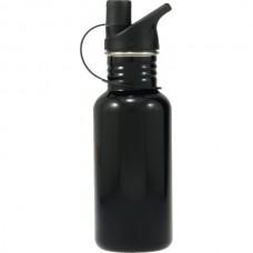 Stainless Steel Water Bottle Black 500ml