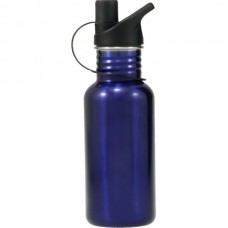 Stainless Steel Water Bottle Blue 500ml