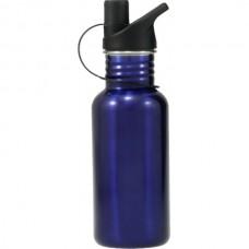Stainless Steel Water Bottle Blue 500ml