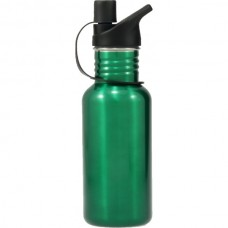 Stainless Steel Water Bottle Green 500ml