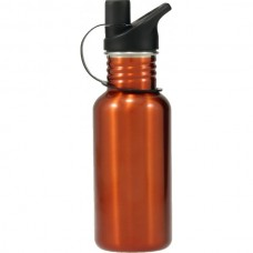 Stainless Steel Water Bottle Orange 500ml