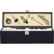 Wine Box (Black) with Tools