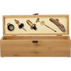Wine Box (Bamboo) with Tools