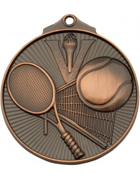 Medal - Tennis Bronze Victory 52mm