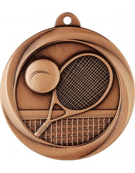 Medal - Tennis Bronze 50mm