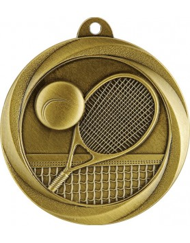 Medal - Tennis Gold 50mm