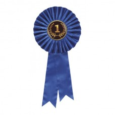Rosette Dark Blue 135 x 305mm