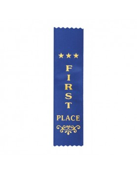 Ribbon First Place Dark Blue