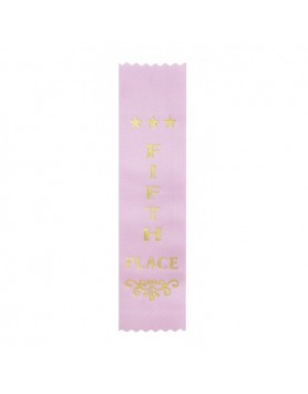 Ribbon Fifth Place Light Pink