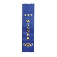 Ribbon Winner Dark Blue