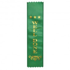 Ribbon Well Done Dark Green
