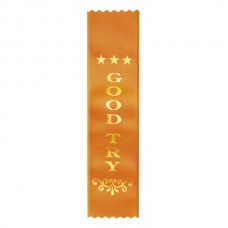 Ribbon Good Try Orange