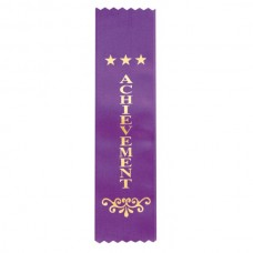 Ribbon Achievement Purple