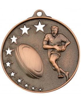 Rugby / Touch / Tag Hollow Star Series 52mm - Bronze
