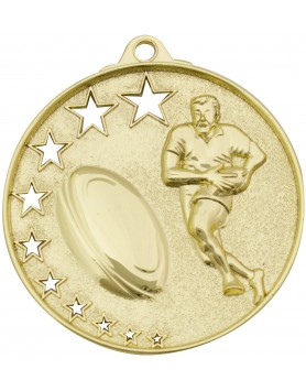 Rugby / Touch / Tag Hollow Star Series 52mm - Gold