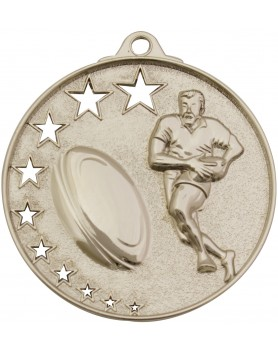 Rugby / Touch / Tag Hollow Star Series 52mm - Silver