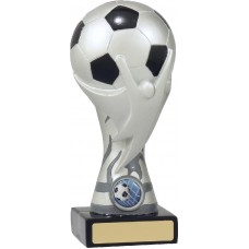 Soccer Ball on Silver Cup 165mm
