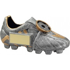 Soccer Boot Silver 65mm