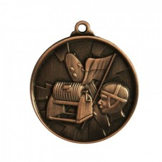 Surf Lifesaving Heavy Two Tone Medal - Bronze