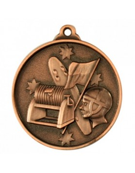 Surf Lifesaving Heavy Stars Medal - Bronze