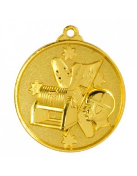 Surf Lifesaving Heavy Stars Medal - Gold