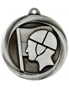Medal - Surf Life Saving Silver 50mm