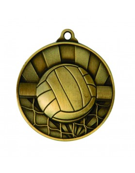 Medal - Two Tone Volleyball Gold